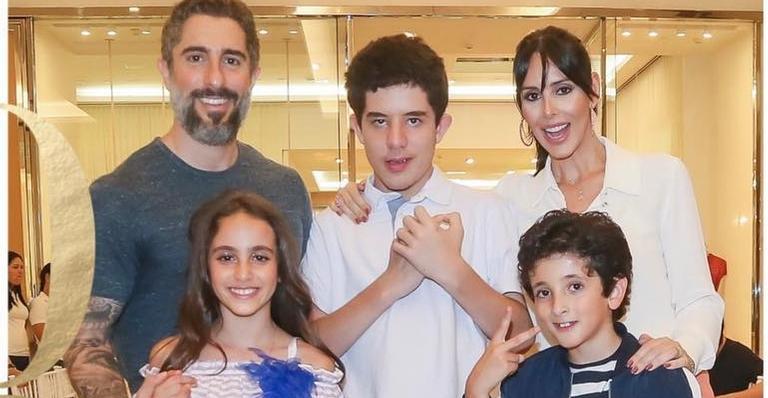 """Marcos Mion sobre o filho autista: """"Requer cuidados especiais"""""""