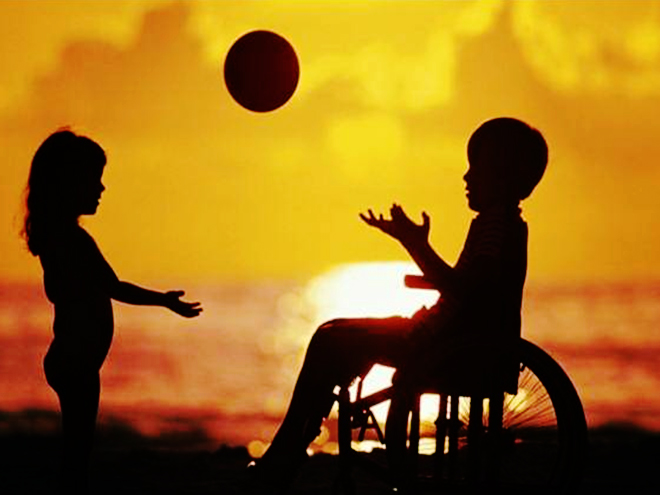 Convivendo com um deficiente