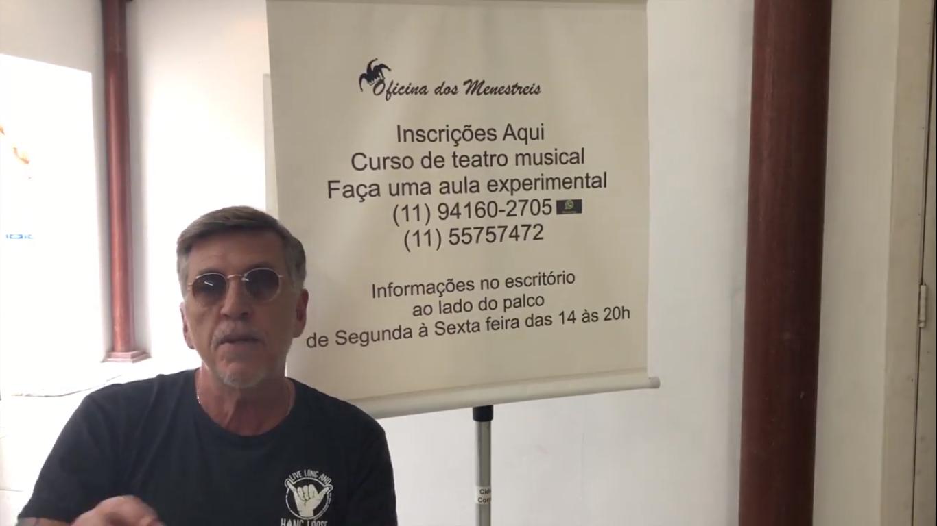 """Deto Montenegro, fala sobre a """"Oficina dos Menestreis """" direcionada às pessoas com deficiências"""