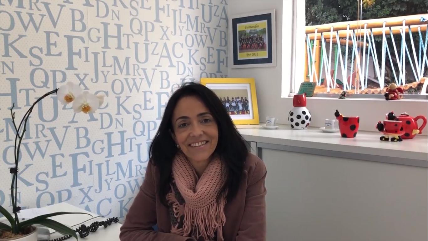 Vanessa Santos, coordenadora pedagógica de educação infantil,fala sobre inclusão na escola