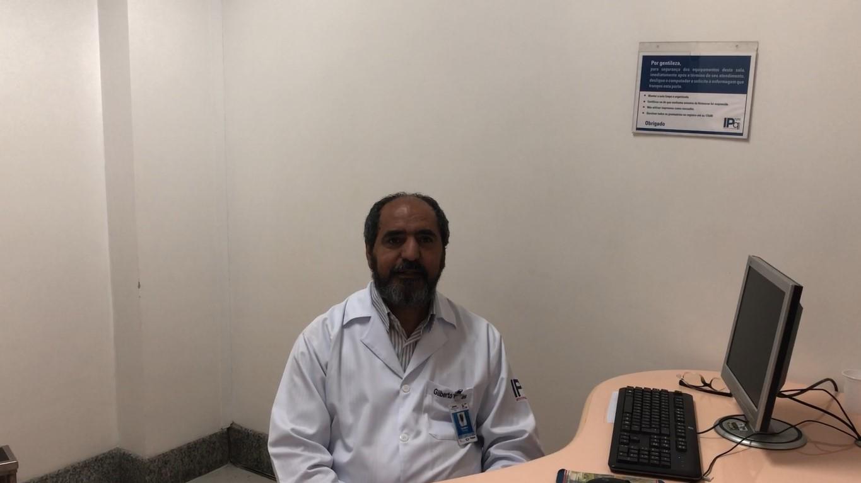 Enfermeiro José Gilberto Prates fala sobre gente que cuida da gente