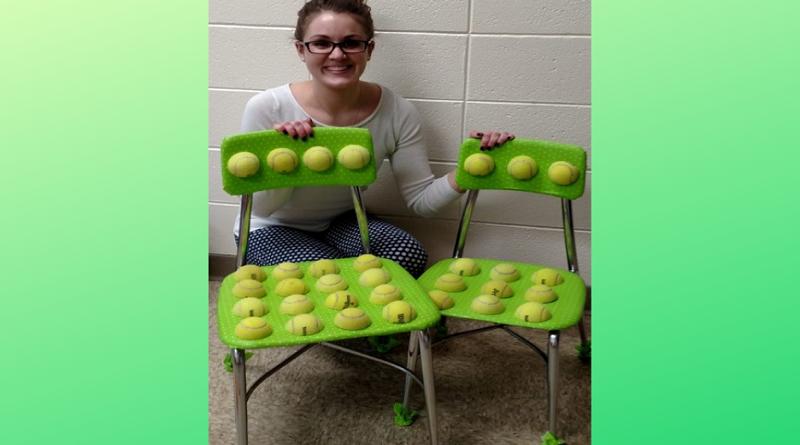 Professora transforma cadeira para ajudar alunos com problemas sensoriais e os resultados foram evidentes!
