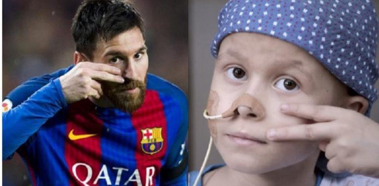 Messi ajudará a construir centro de tratamento contra câncer infantil