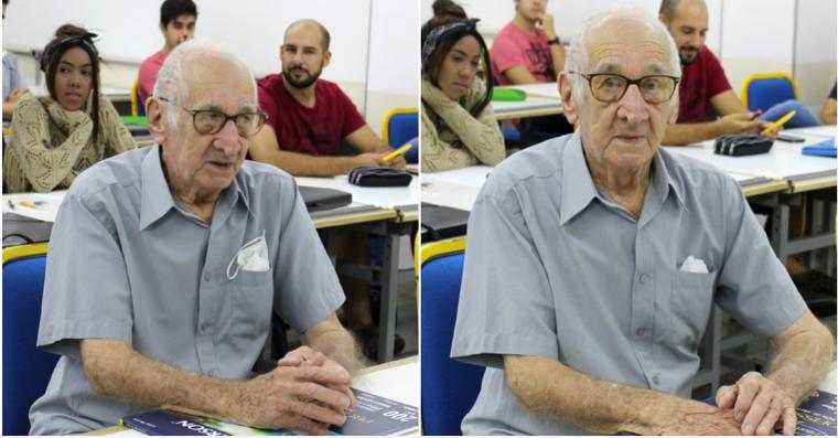 Ser arquiteto aos 90 anos, não tem preço!