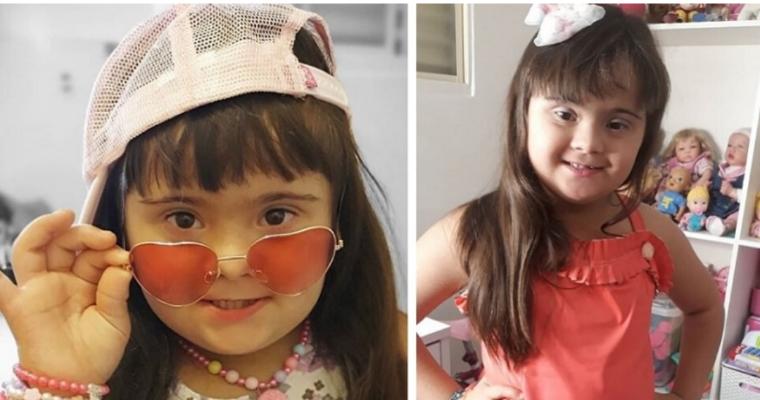 Ela arraaaaaaaasa ! Tem apenas 7 anos , síndrome de Down e é influencer digital, blogueira  Agora, advinha quantos seguidores a Mariana tem?!