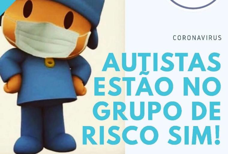 Corona vírus é um risco em potencial para quem tem filho autista!